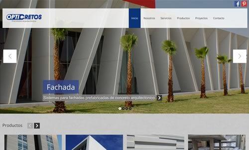 diseno de pagina web para constructora