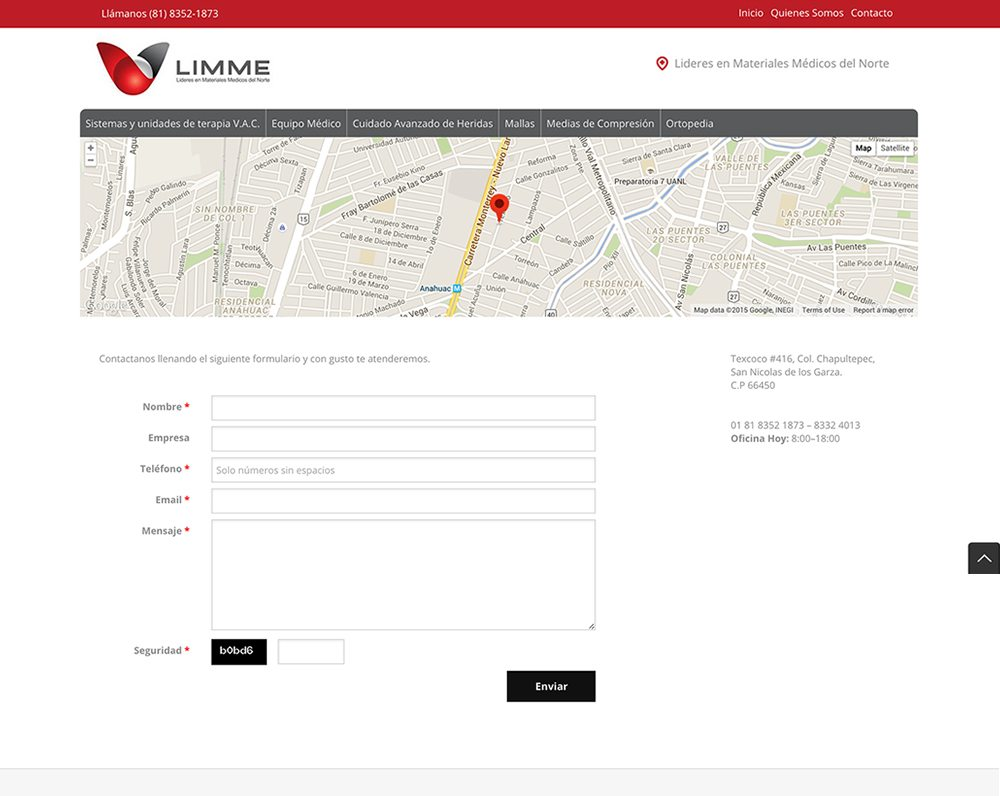 pagina web responsiva