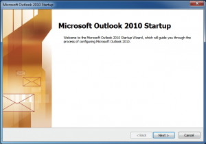 configurar correo en outlook 2010