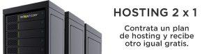 oferta hosting 2 x 1