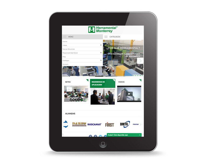 diseño web para empresas industriales en mexico