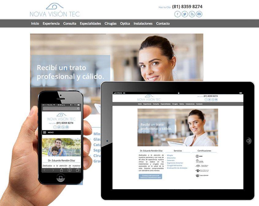 diseno sitio web para medicos