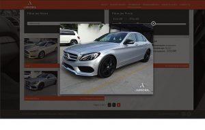paginas web para carros de lujo