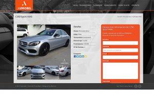paginas web para carros