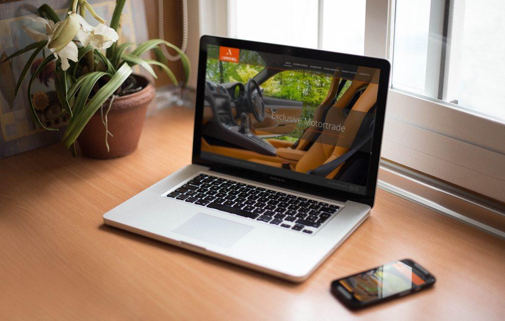 diseno web para agencias de autos