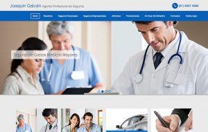 sitio para agente de seguros