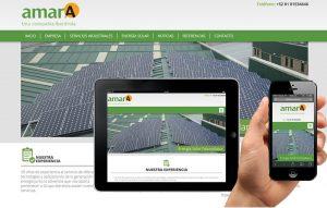 diseno web paneles solares