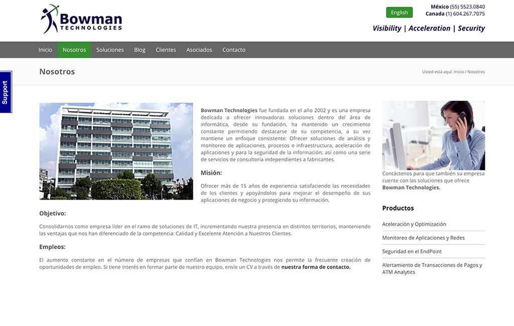 diseno web empresa de tecnologia