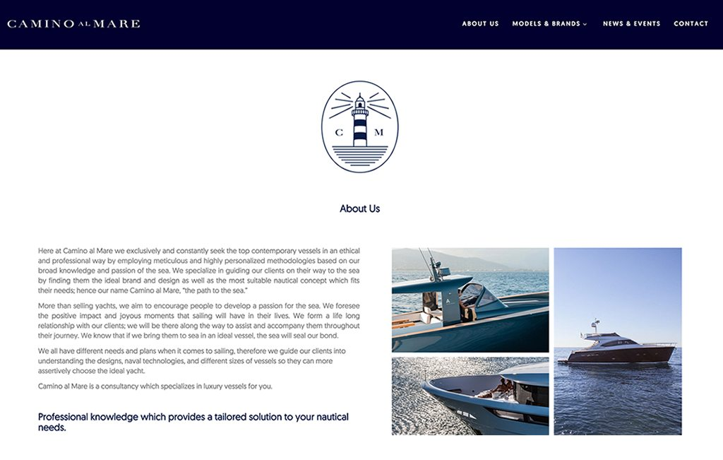 pagina web de lujo