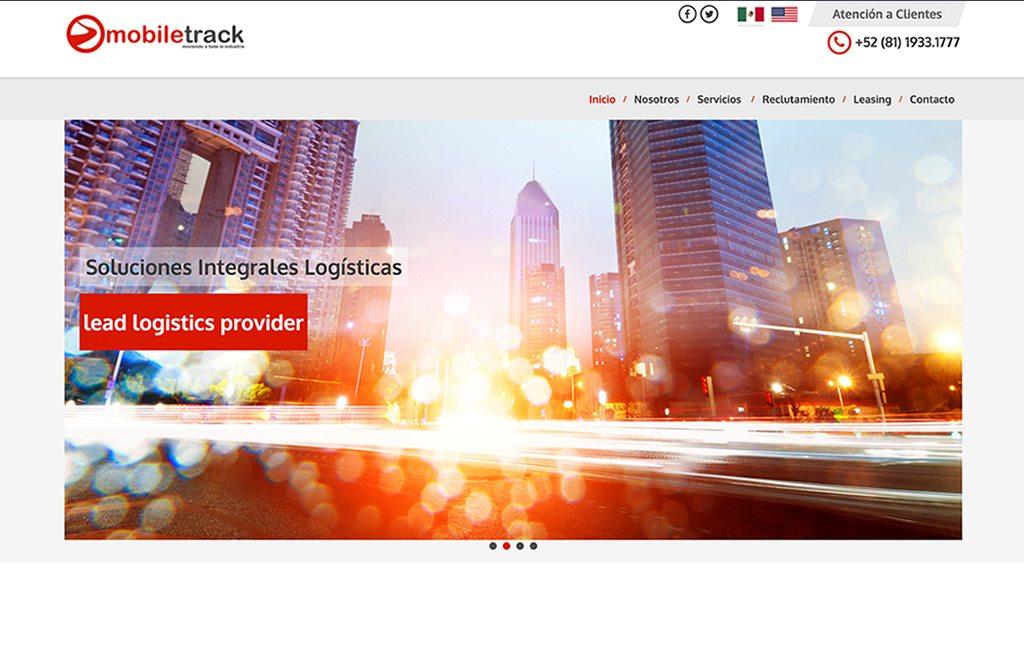 diseno web empresa de logistica