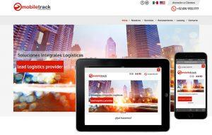 diseno sitio web para empresa de transporte
