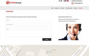 pagina web para transportistas