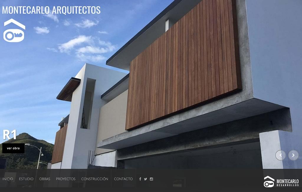 sitio web para arquitecto