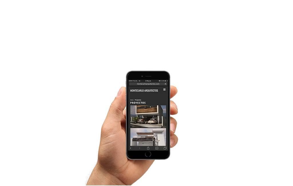 sitio web arquitectos para iphone