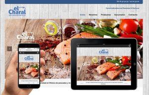 Diseño sitio web para restaurantes