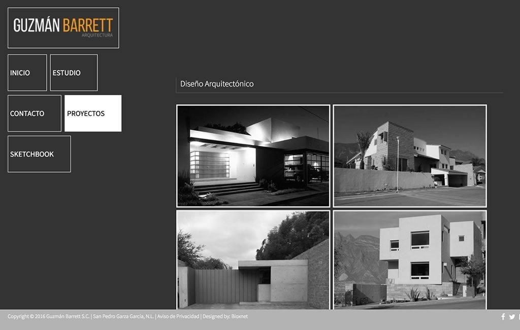 Diseno De Pagina Web Arquitectura Bioxnet Web And Branding