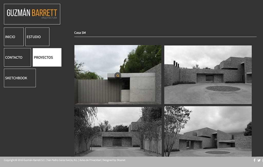 diseno de sitio web arquitecto