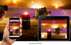 sitio web para spa