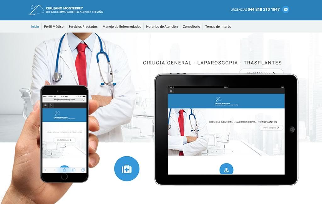 diseno de sitio web para medicos