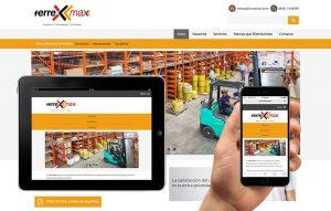 diseno de sitio web para empresas industriales