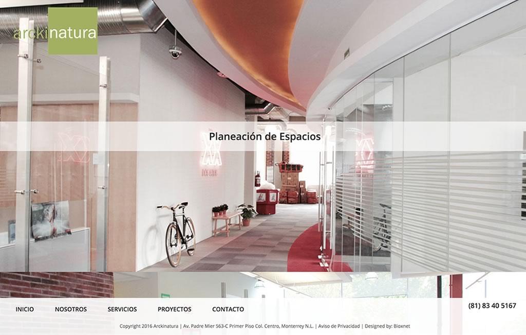 pagina web para arquitectos