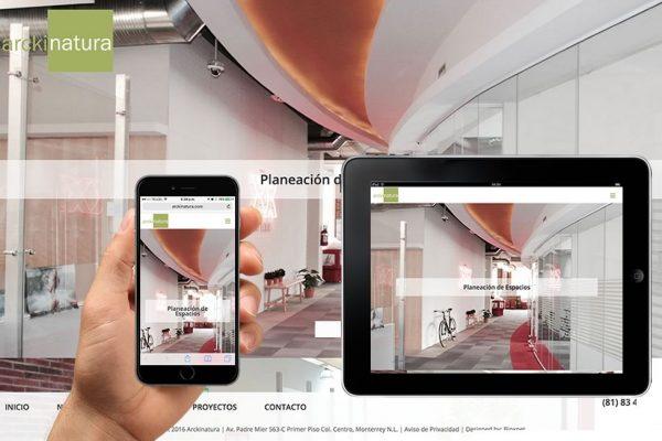 diseno web para arquitectos