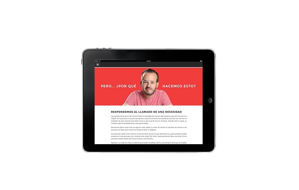 diseño web para ipad monterrey