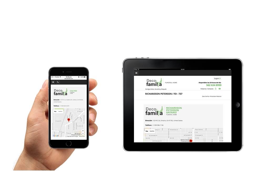 sitios web para ipad y iphone