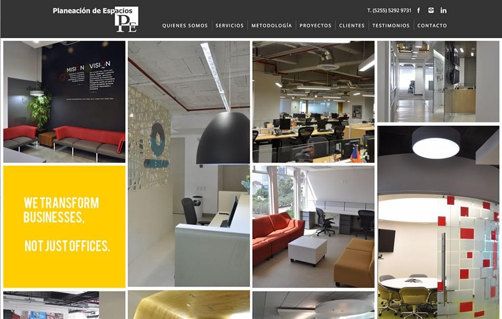pagina web para arquitecto