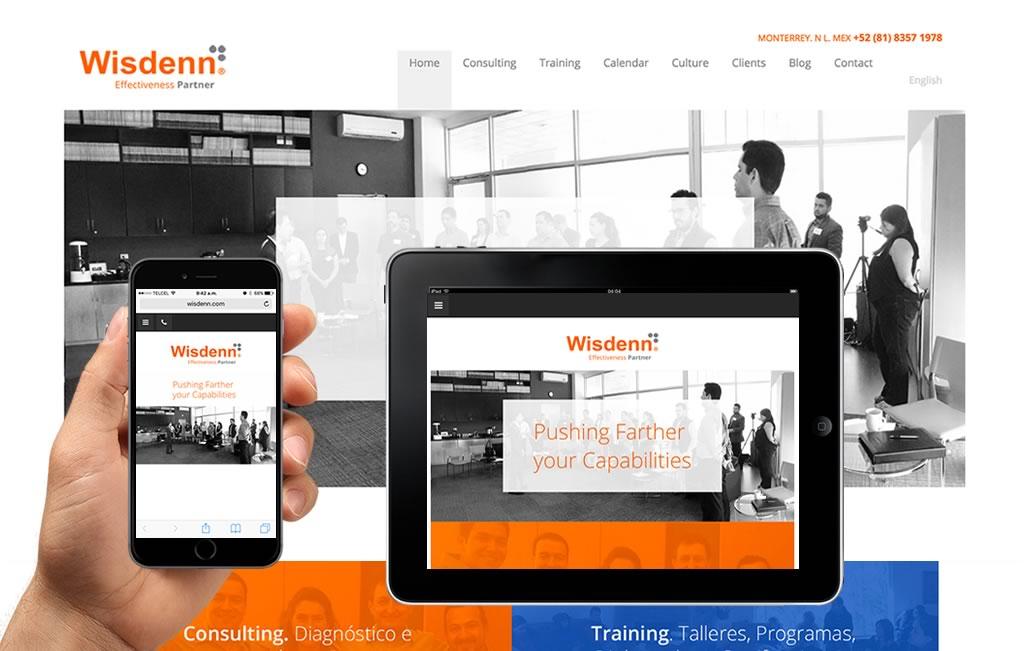 sitio web para empresas de consultoria