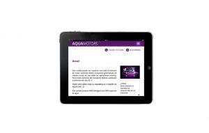 pagina web para ipad