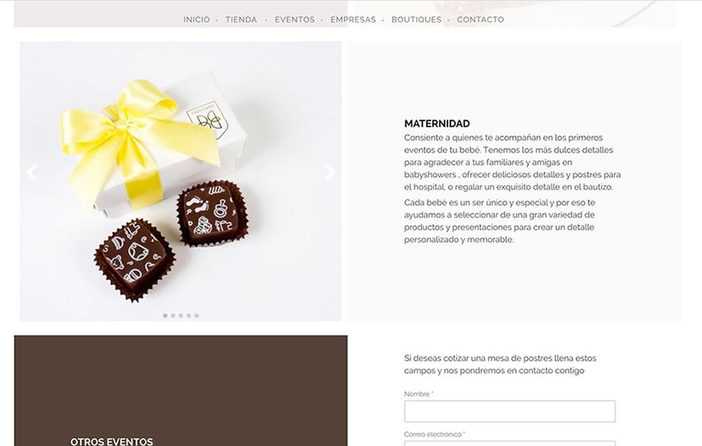 sitio web profesionales
