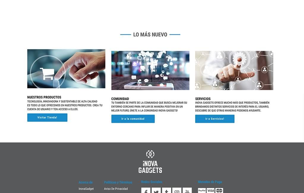 sitio web para venta en linea