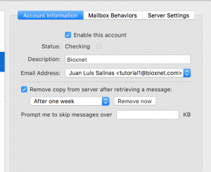 como dar de alta correo en mac mail sierra 4