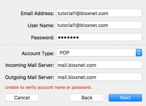 como dar de alta correo en mac mail sierra 5