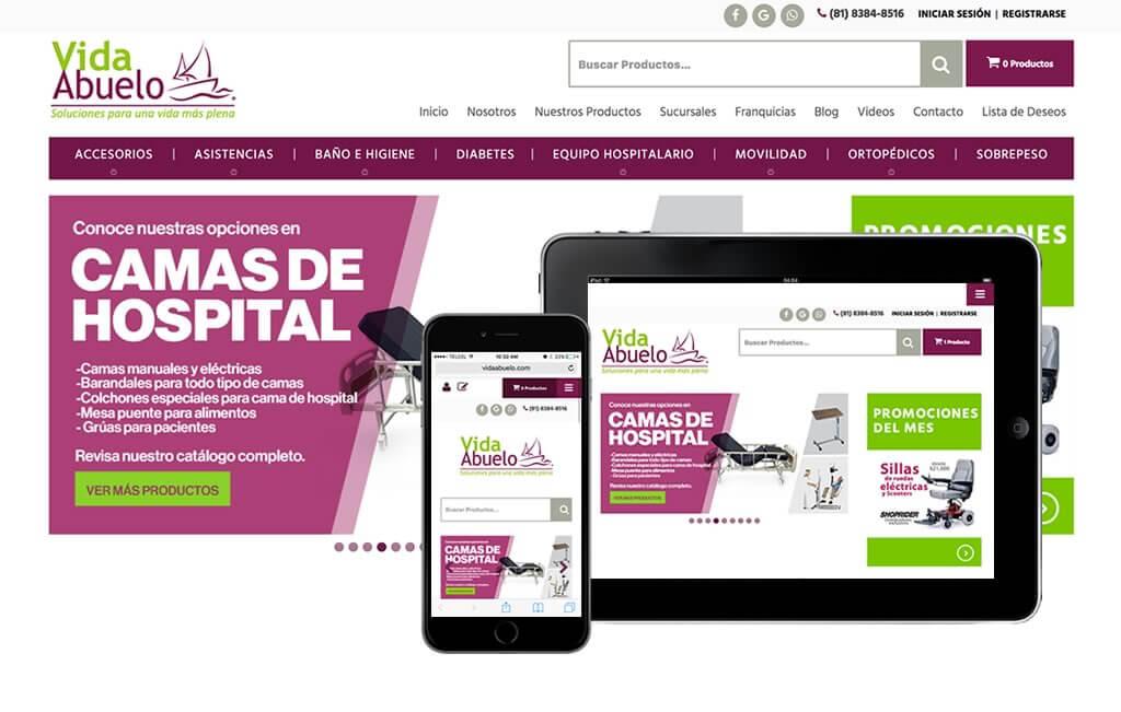 diseno web medico