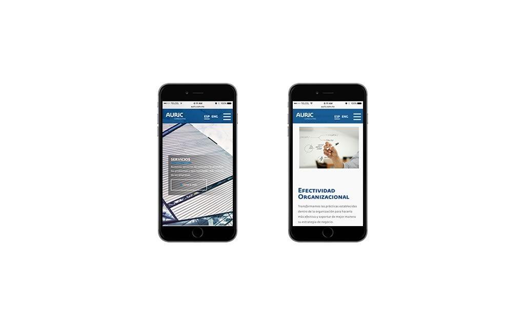 diseño web para teléfonos móviles