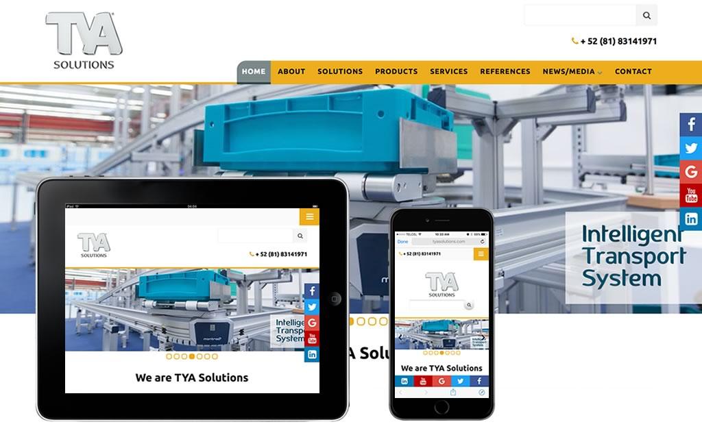 diseno de pagina web para empresas industriales