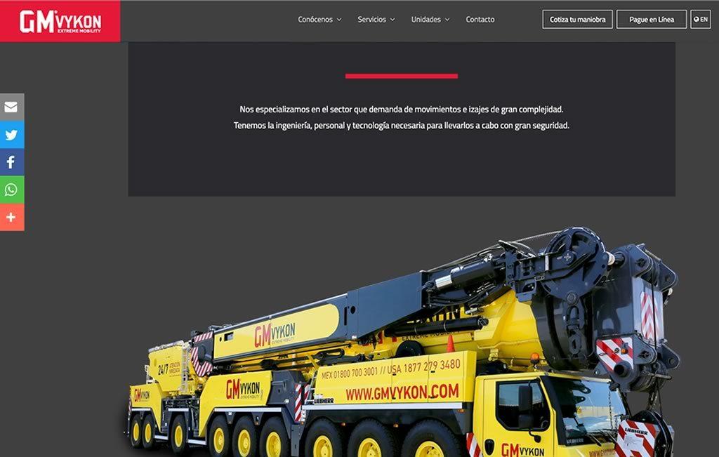 diseño de pagina web moderna