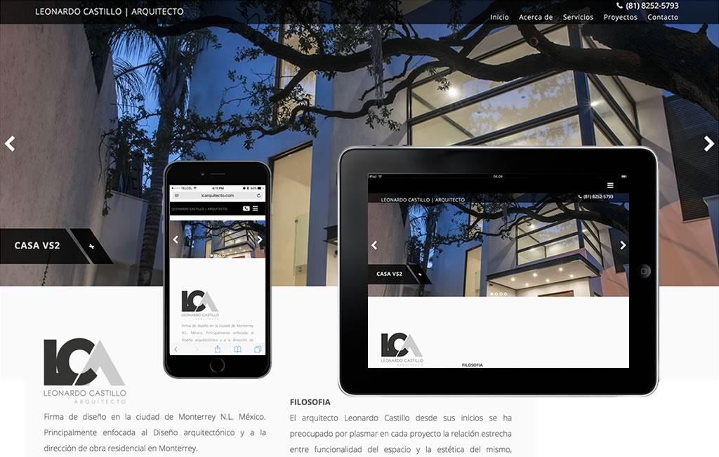 diseño de sitios web modernos