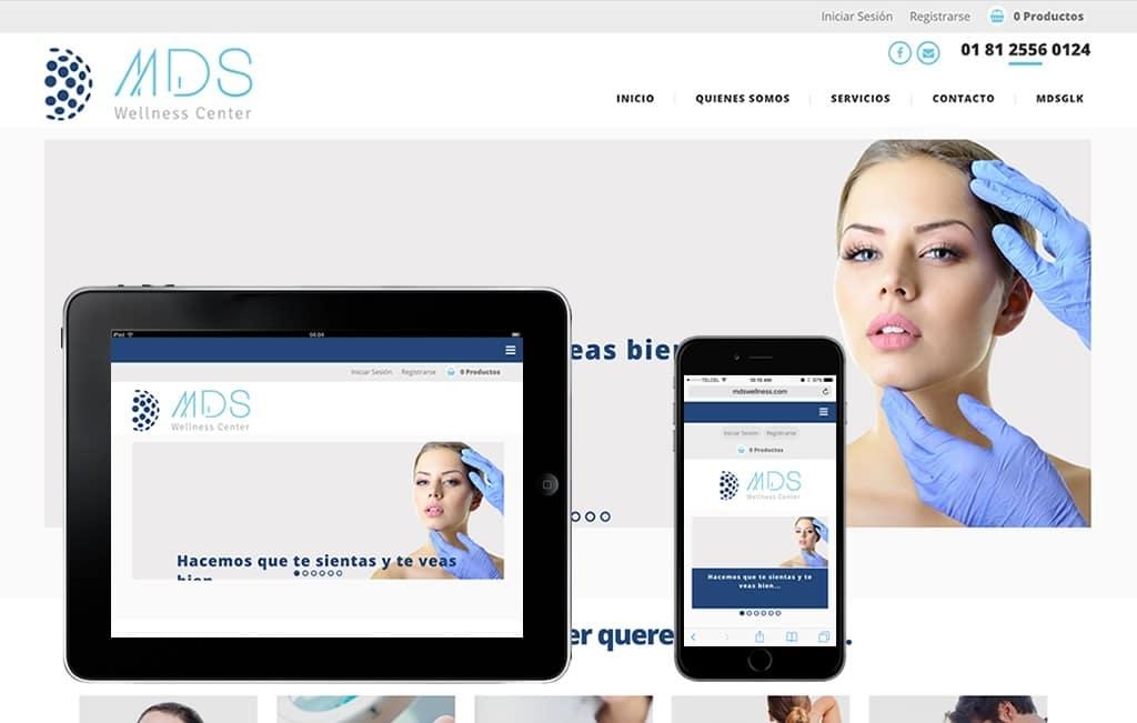 diseño sitio web profesional movil