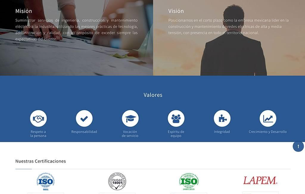 agencia de diseño web para industria