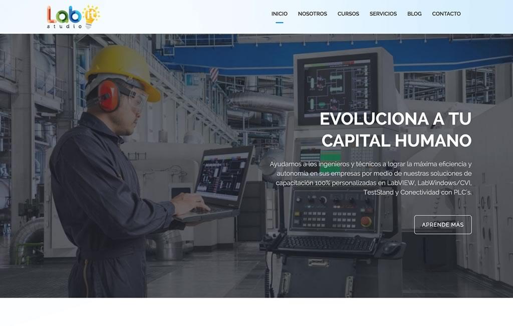 diseno web para empresas industriales
