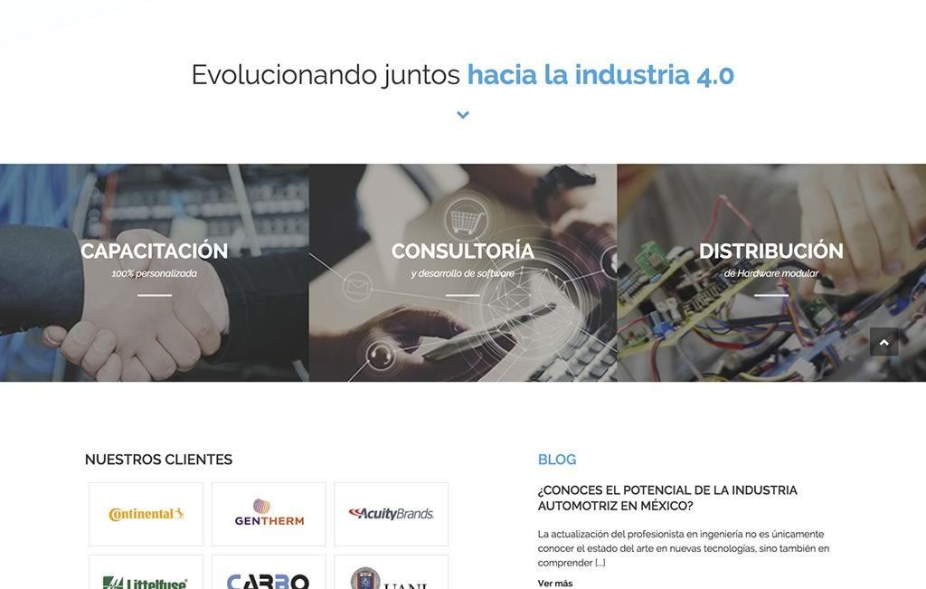 sitios web industriales