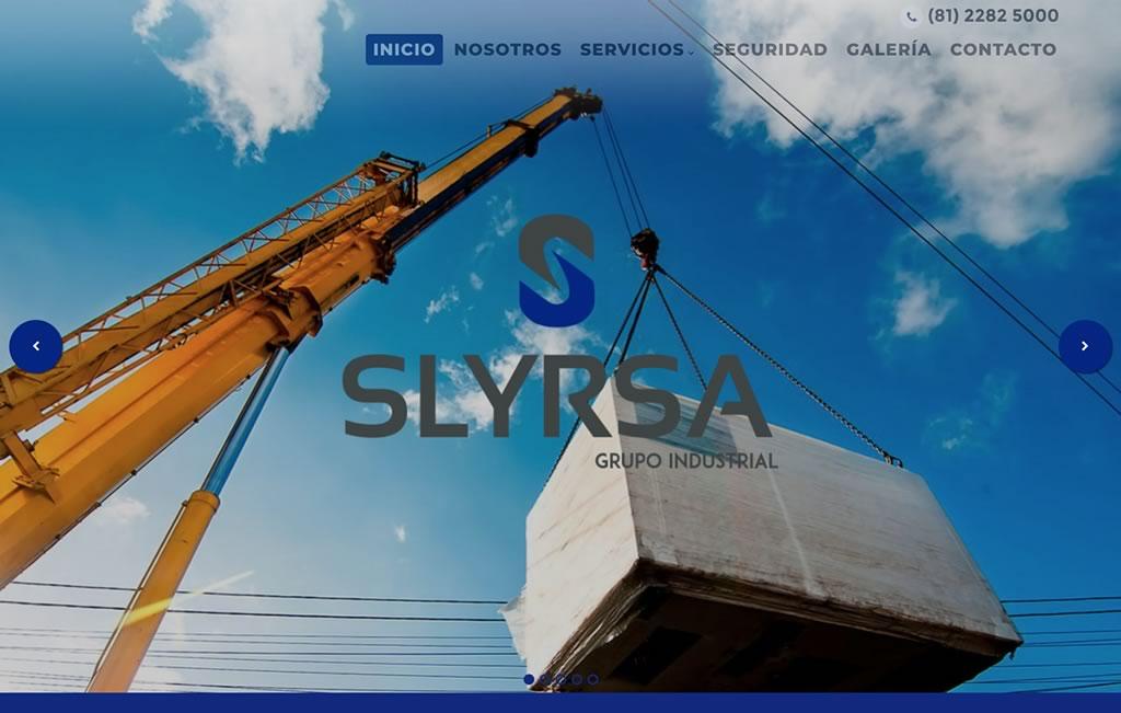 diseño de sitios web industriales