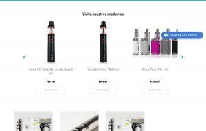 pagina web tienda en linea
