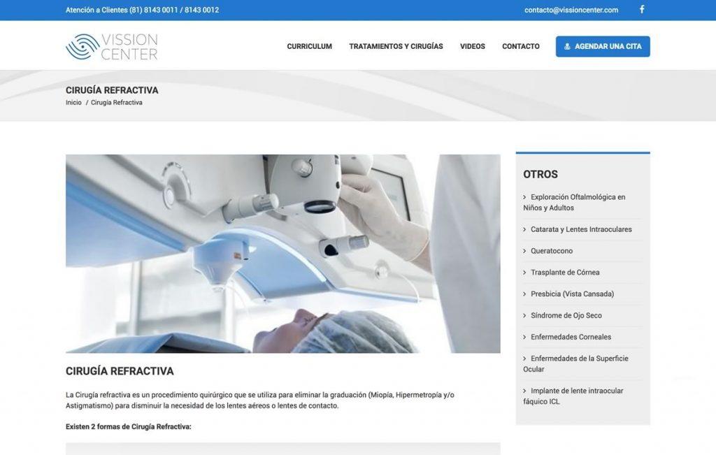 diseño web medico