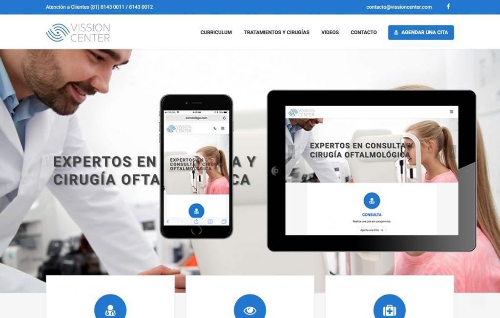 sitio web medico monterrey