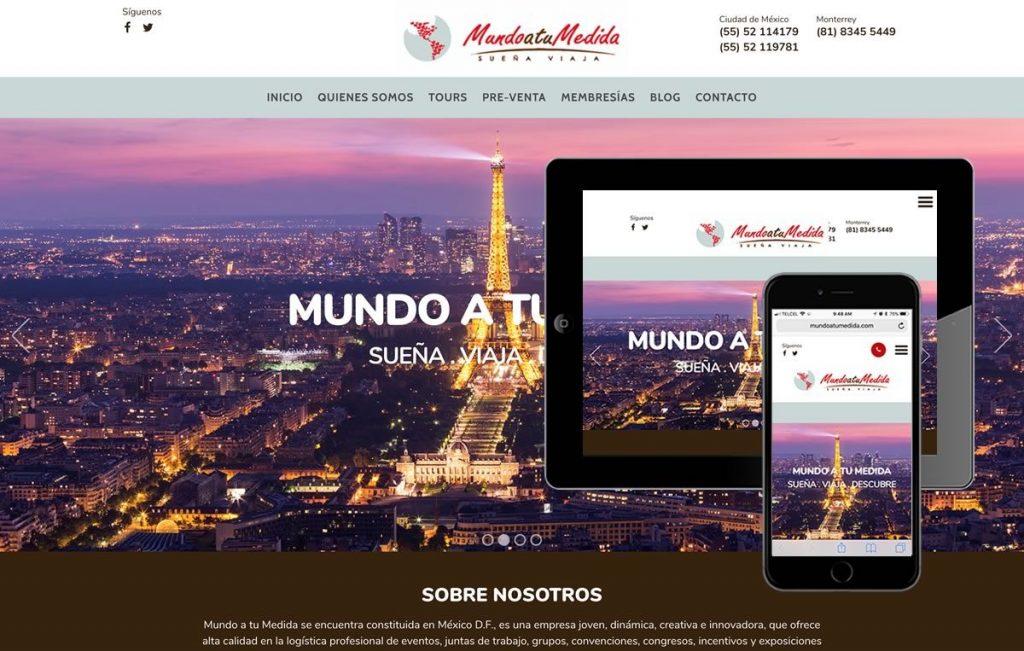 pagina web responsiva monterrey