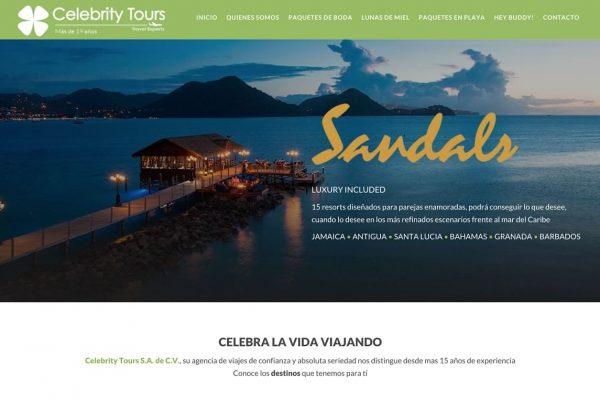 diseño web para agencias de viaje